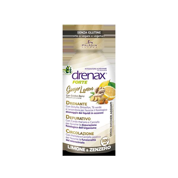 Drenax Forte Pocket Ginger Lemon
