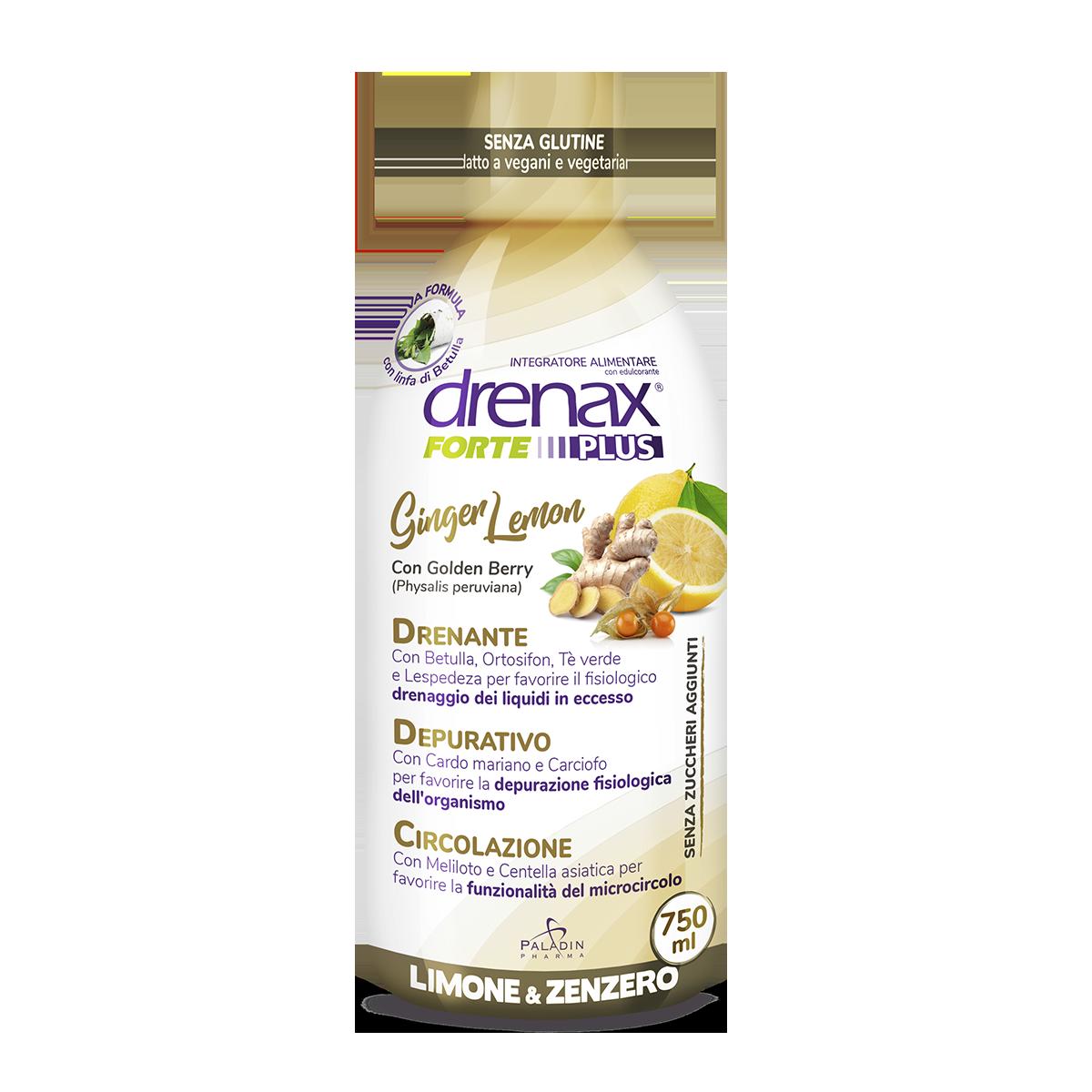 Drenax Forte Ginger Lemon 750ml